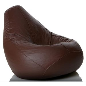 Image of a brown bean bag