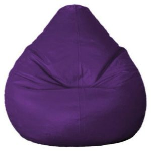 Image of a purple bean bag