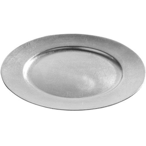 image of a silver underplate