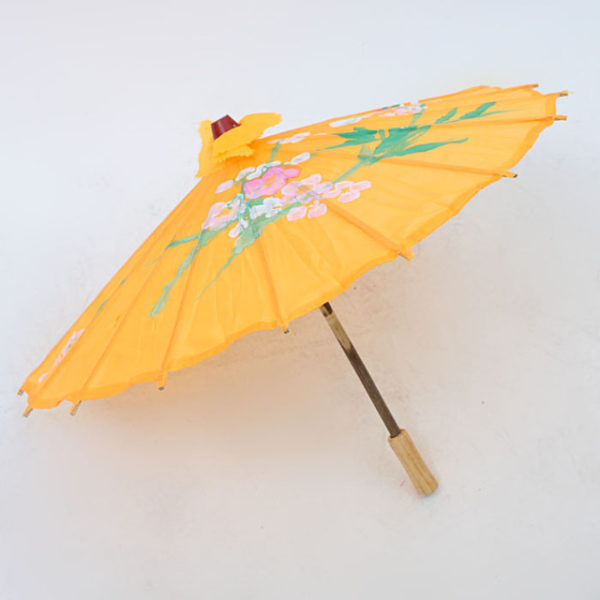 Image of a Yellow Chinese Umbrella